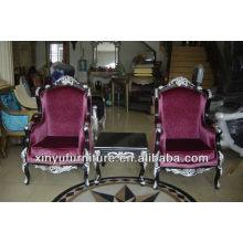 Conjuntos de cadeira e mesa de madeira sólida XYD124