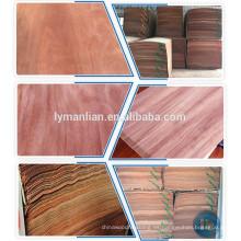 Hoja de chapa de madera delgada de China