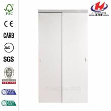 48 polegadas x 80 polegadas espelho chanfrado quadro branco para porta deslizante