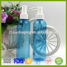 ПЭТ личный уход за кожей круглые пустые пластиковые прозрачные бутылки для духов