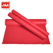 Fabric wool carpet red carpet polyester felt