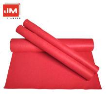 Tapete de lã de tecido tapete vermelho poliéster feltro
