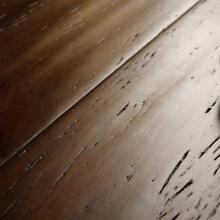 Antique afligido clique Strand Woven Bamboo Flooring