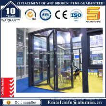 Puertas de Aluminio / Puertas Bifolding de Aluminio 6065