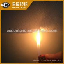 Tecido funcional 100% poliéster retardante de chamas à prova de fogo