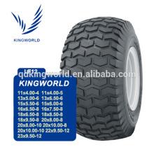 pneu pneumático do trator gramado de 13 polegadas
