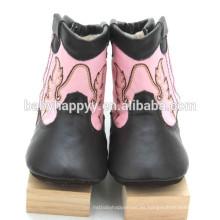 Los zapatos de bebé de lujo lindos superventas del bebé del prewalker de las muchachas calzan invierno