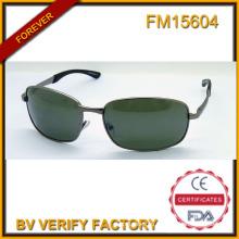 FM15604 Высокое качество новый дизайн нержавеющей стали солнечные очки для Европейского человека