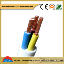 Flexible Copper Conductor Insulated PVC Electric Cable and Wire