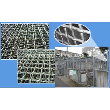 Galvanized Crimped Woven Wire Mesh