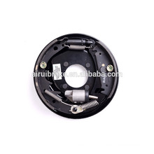 Complete 10''x2-1/4'' hydraulic free backing brake assembly for trailer