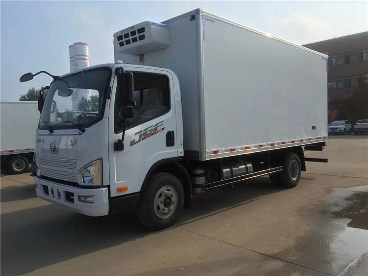 الصين Faw J6f شاحنة نقل الخضار شاحنة مبردة المصنعين