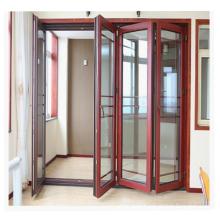 Wooden color size customized decorative accordion door