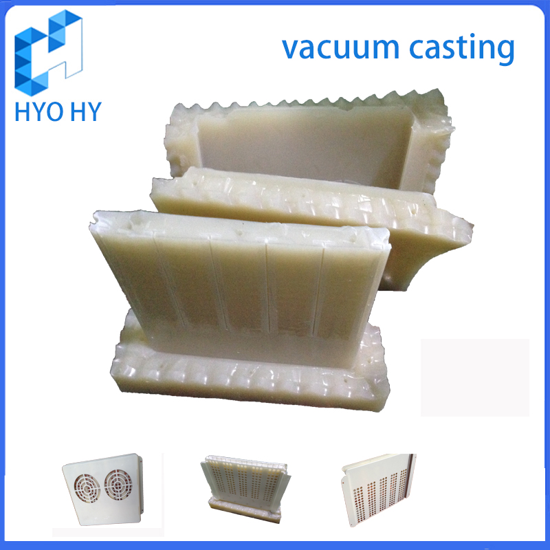 Rapid prototyping silicone mould vacuum casting