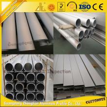 Tubo de alumínio anodizado da tira de Matt com certificação ISO9001