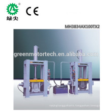 Easy operration high frequency curved wood forming press /Curved Plywood Press machine with good after-sale service