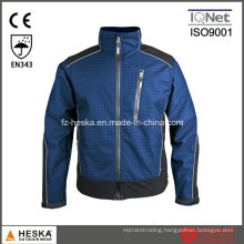 Casual Coat Ripstop Mens Soft Shell Jacket with Fleece