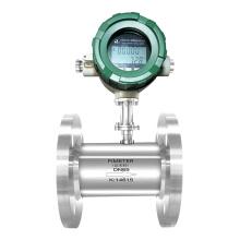 O sensor do medidor de fluxo da turbina LWGY-C instala, usa-se e modula-se (Li-bateria, com saída do sinal 4-20mA