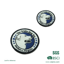 Factory Custom Sew on Embroidery Patches for Hat (W-10)