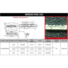 Ventas calientes de fábrica Side View 020 SMD LED Diode