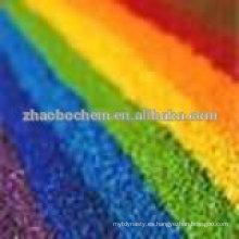 Muestra de 50 gramos colorante azul ácido color verde ácido 27as tintes de papel