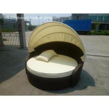 CF791 Leisure Hot Sale Garden Furnitures Rattan Sunbed (CF791)