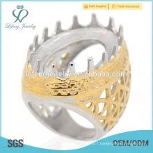 Unique multiple claw casting designer rings, indonesia vintage rings design for men