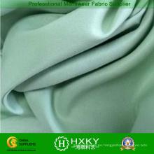Tela de microfibra blanqueada satén del poliéster para la materia textil casera