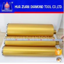 Bits de diamante L450mm cortando concreto reforçado