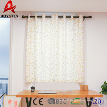 Rideaux de fenêtre en lin imprimés de haute qualité