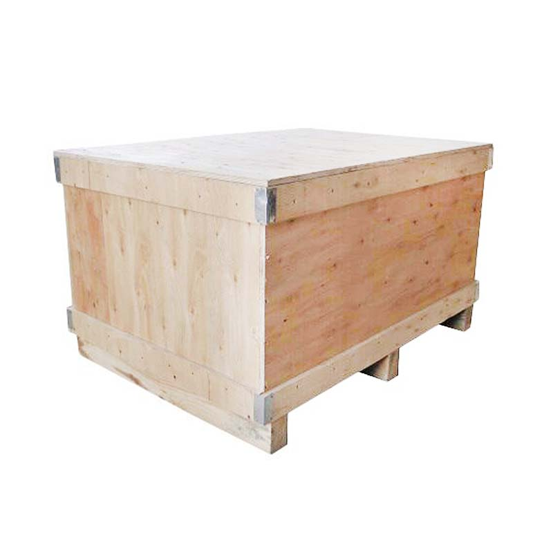 exported wooden fumigation box
