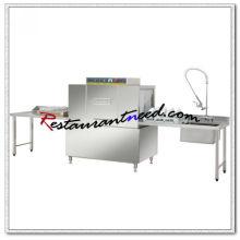K714 Förderer Geschirrspülmaschine mit Vorreinigung und Ausgang Tisch