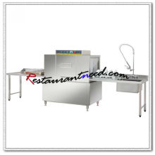 K714 Conveyor Dishwasher With Pre-cleaning And Exit Table