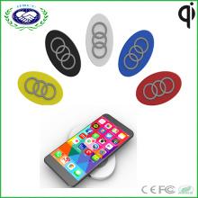 Высокое качество освещения портативных 3 катушки Qi беспроводной зарядное устройство