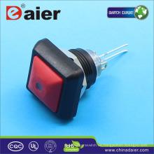 Interruptor de botón eléctrico a prueba de agua Daier DS-12S-DM