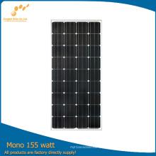 Lista de precios del panel solar mono del fabricante 160W de China