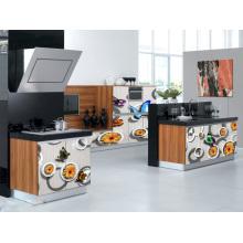 Cabinet de cuisine en style chinois de style 3D (ventes chaudes)