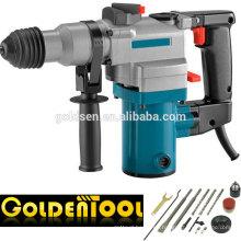 26mm 620w SDS-Plus Rompedor de demolición de mano Rotativo Jack Hammer Portable Mini potencia de perforación de martillo eléctrico Precio GW8268