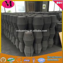 China fornecimento direto da fábrica HP RH UHP grafite eletrodos com mamilos para fornos a arco