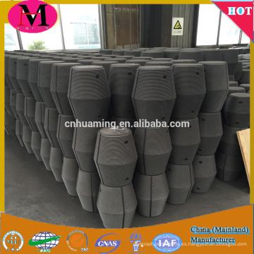 Suministro directo de fábrica de China Electrodos de grafito HP RH UHP con niples para hornos de arco