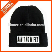 wholesale unisex cheap acrylic custom knitting winter hats