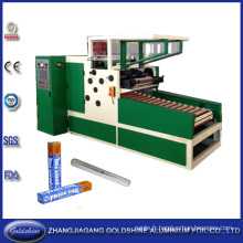 Rouleau de papier aluminium automatique faisant la Machine (GS-AF-600)
