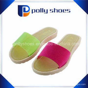 Двойной цвет Pcu инъекций женщин Дешевые тапочки