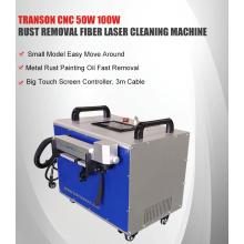 Máquina de remoção de ferrugem a laser de fibra