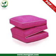 water proof folding beanbag cushion beanbag mat three section