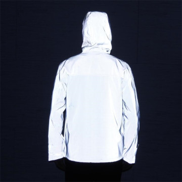 Rainbowtouches Custom Hip Hop Multicolor Reflective Jacket