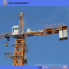 Chinesischer Turmkran-Hersteller 10t Qtz160-6516 Spitzenbausatz-Turmkran