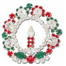 La más nueva joyería del diseño barato broche artificial broche de la flor de Corea y broches