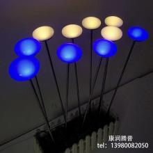 Luces LED para piruletas al aire libre