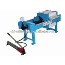 Hot sale 400 Series Small Manual Chamber Laboratory Filter Press in stock
